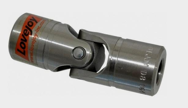 """Lovejoy Size D7B Universal Joint, 5/8"""" Round Bore, New"""