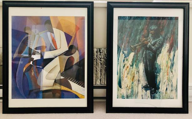 Modern Contemporary Art-Jazz Muscians