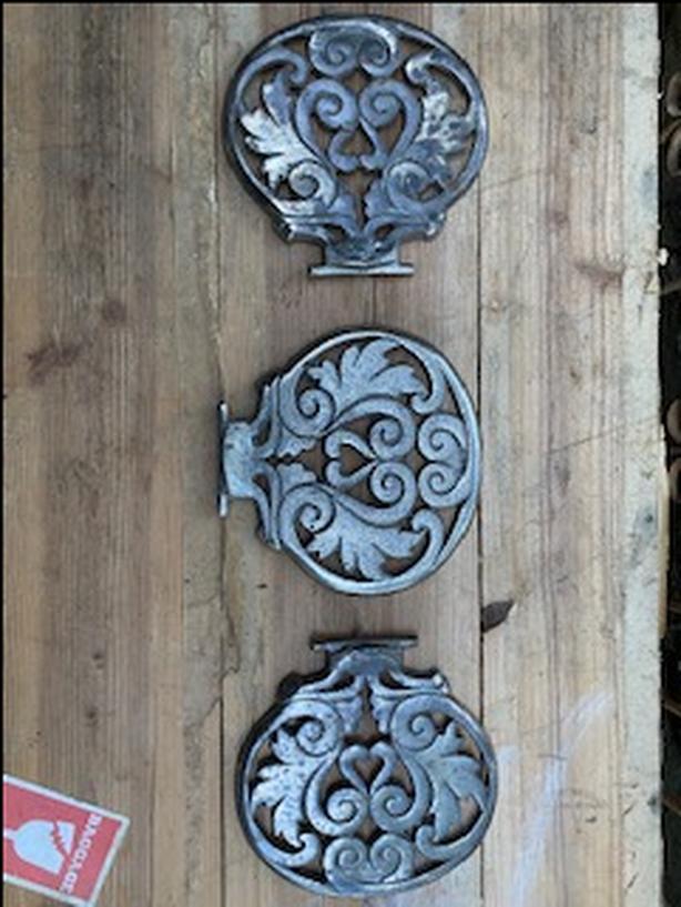 Antique Cast Stove Doors/Lids