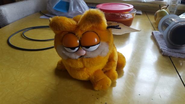Vintage 1978 Garfield Bean Bag