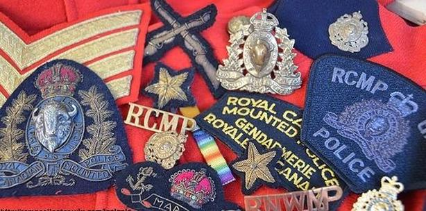RCMP NWMP items wanted