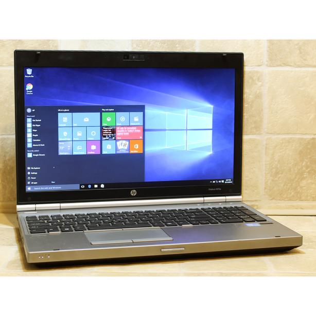 "HP EliteBook 8570p Laptop i7 Webcam DVDRW WiFi 4GB RAM 500GB 15.6"" Windows 10"