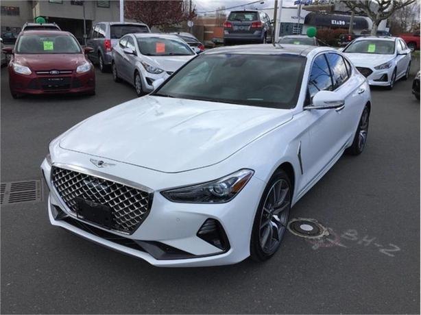 2020 Genesis G70 2.0T Prestige | No Accidents, 5-Year Maintenance Included!