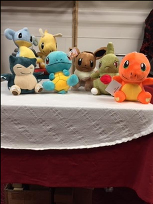 Pokemon Stuffed Animal