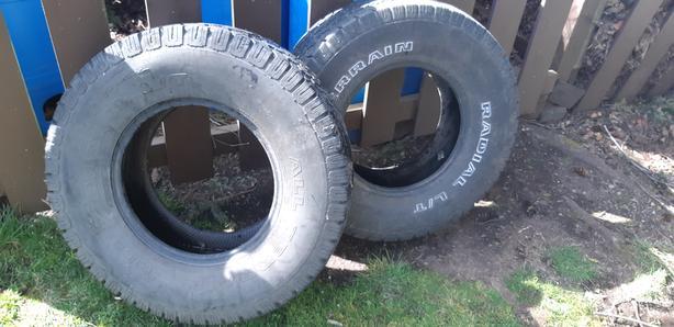 FREE: older tires off Ford 150