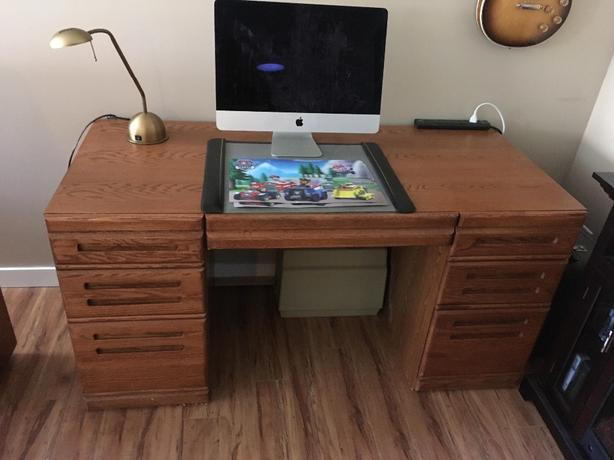 FREE: Large wooden desk