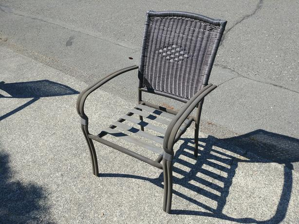 FREE:  5 Quality outdoor chairs