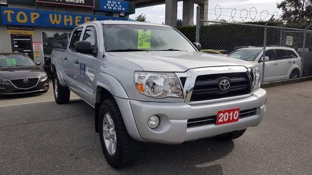2010 Toyota Tacoma 4X4, Long box, Crew-Cab, 167Ks with free warranty