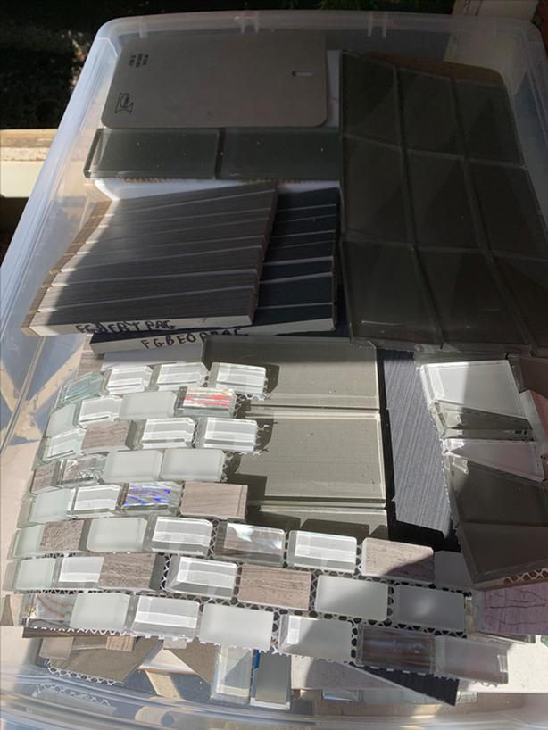 FREE SAMPLES: Tiles and hard surfaces