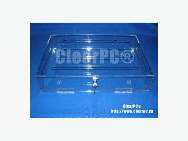 Clearpc Blue Ray Dvd Cd Player Security Case Outside Metro