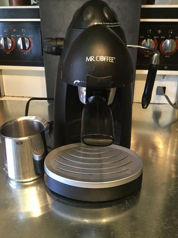 Steam espresso and cappuccino