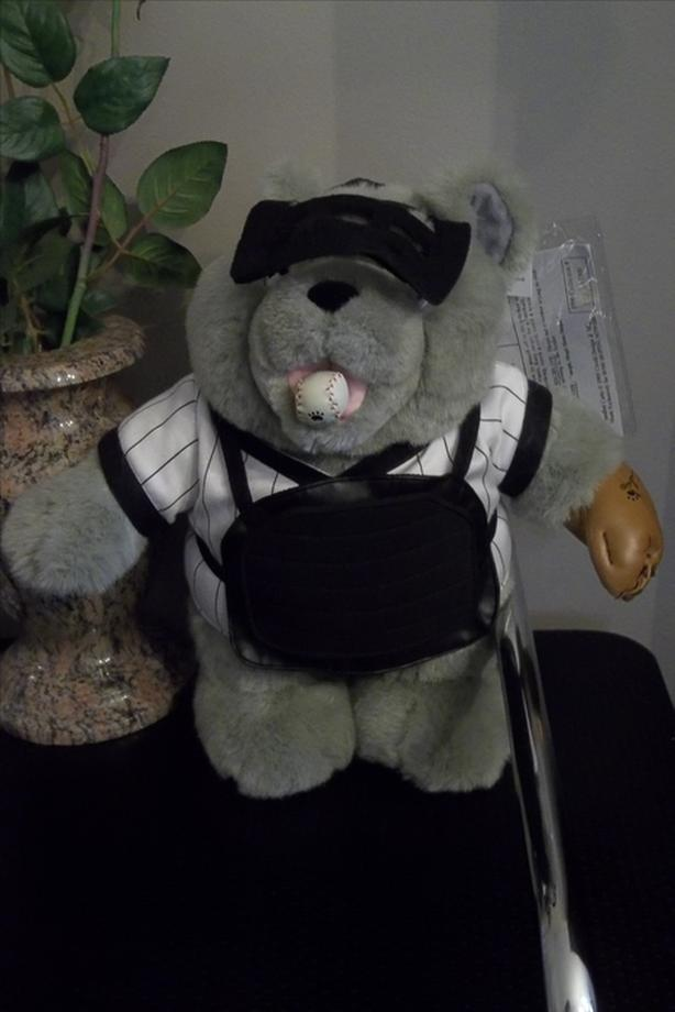 Sandlot Cubs Vtg Teddy Bear Stuffed Animal Baseball