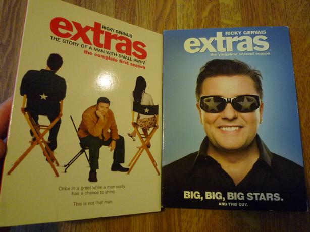 Extras Seasons 1 and 2 - Ricky Gervais