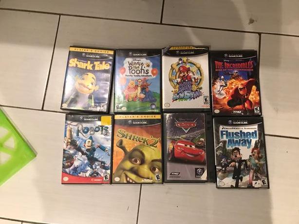 GUC GameCube Games