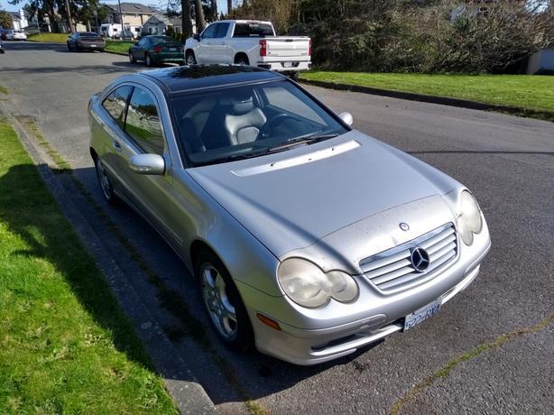 2003 Mercedes C230 Coupe