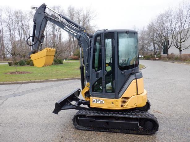2006 John Deere Excavator Diesel 35D