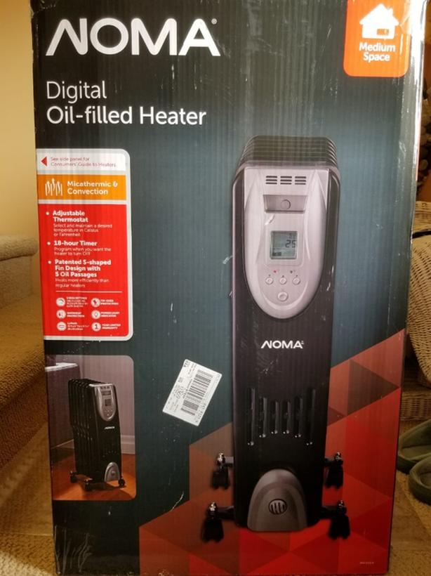 Norma Digital oil filled Heater