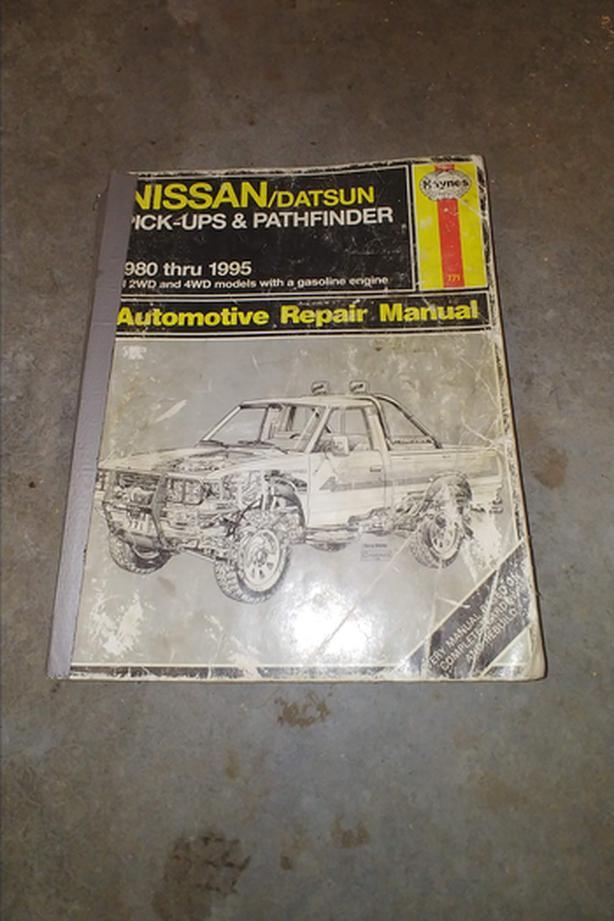 1980-1995 Nissan/Datsun Pick-up & Pathfinder Manual