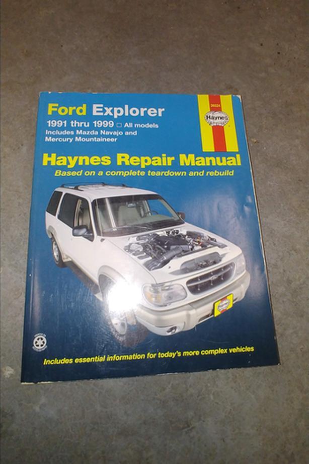 1991-1999 Ford Explorer Repair Manual