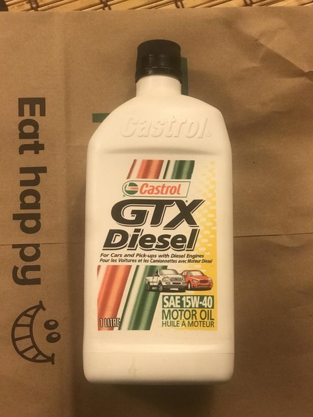 Castrol GTX Diesel  SAE- 15W-49