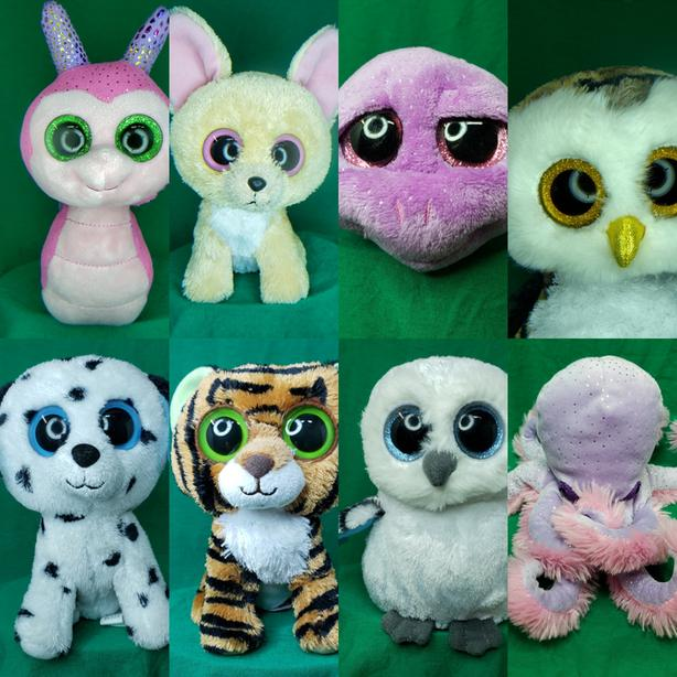 TY BEANIE BOO STUFFIES ... AND OTHER PLUSH TOYS Individual prices.