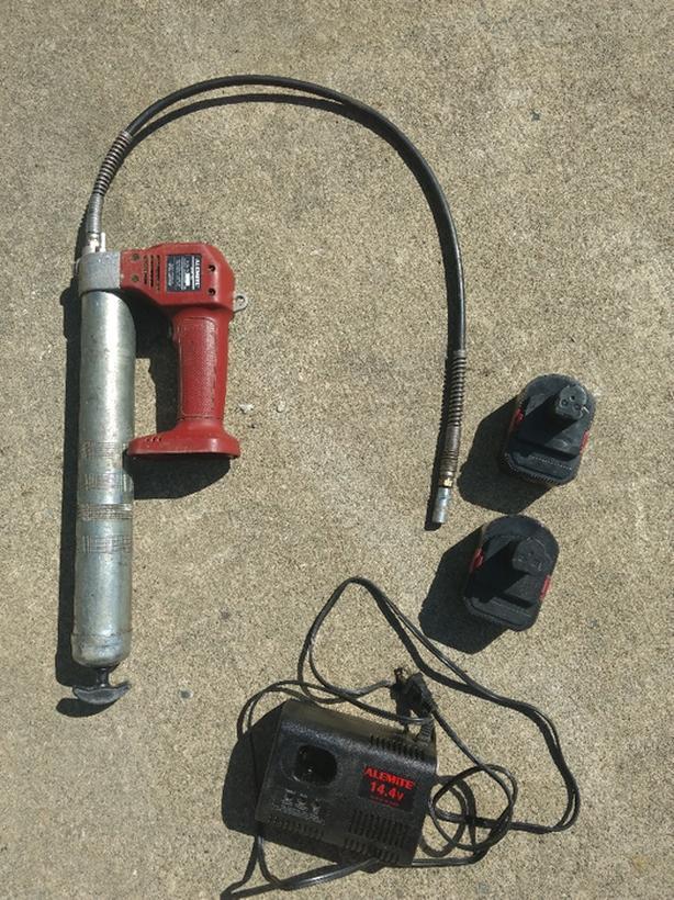 Alemite electric grease gun