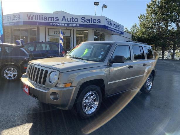 2007 Jeep Patriot 4x4 automatic Automatic Williams Auto Sales
