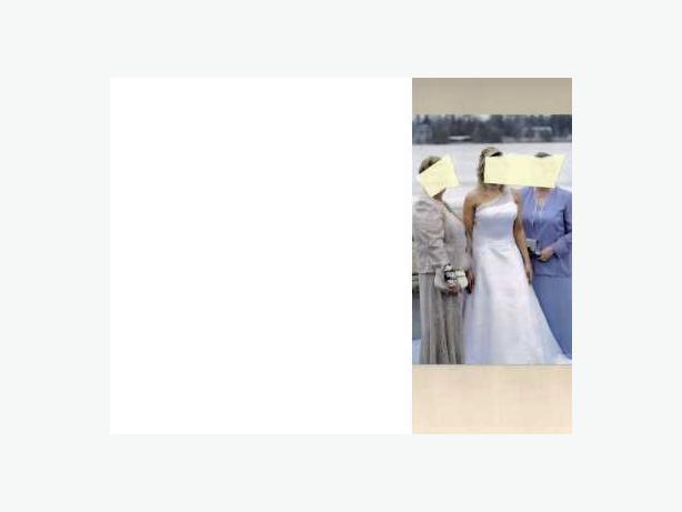 wedding dress ........