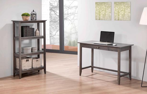 New Solid Hardwood Desk 3 stains