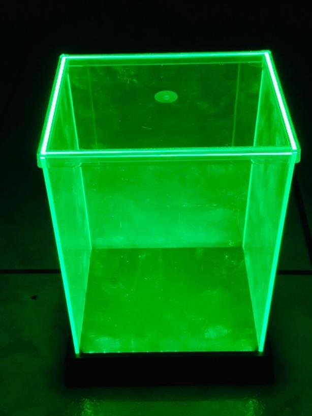 Good Condition Biogenik Green LED Glowbox Funko Pop