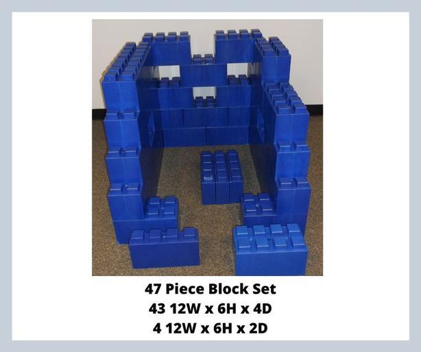 Block Set, 47 piece