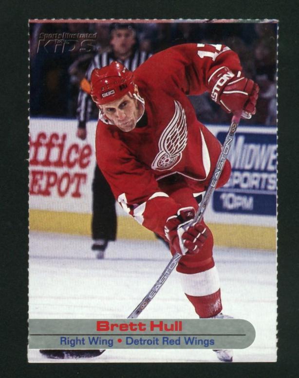 2002-03 Sports Illustrated For Kids Brett Hull Detroit Red Wings