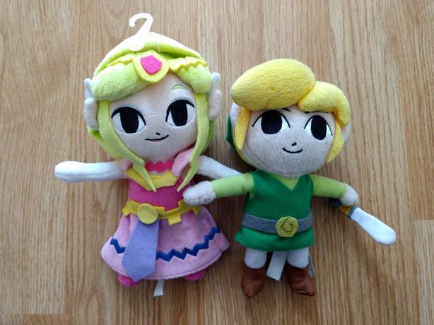 Legend Of Zelda - Toon Link & Zelda Plushies