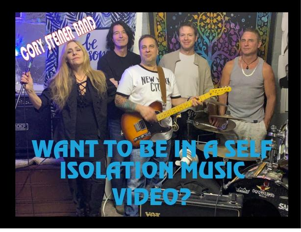 HEY YOU IN SELF ISOLATION.. We want you in our music video?