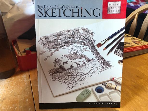 The flying artist's guide to sketching by Philip berrill