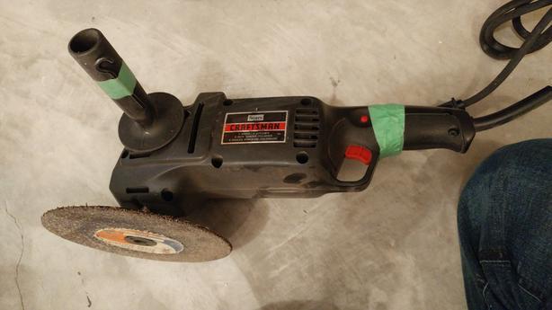 craftsman 6 inch angle sander grinder polisher