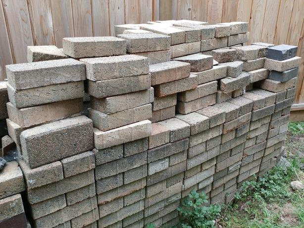 600+ bricks