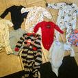 33 PIECES of INFANT CLOTHING: Size 12-24 months