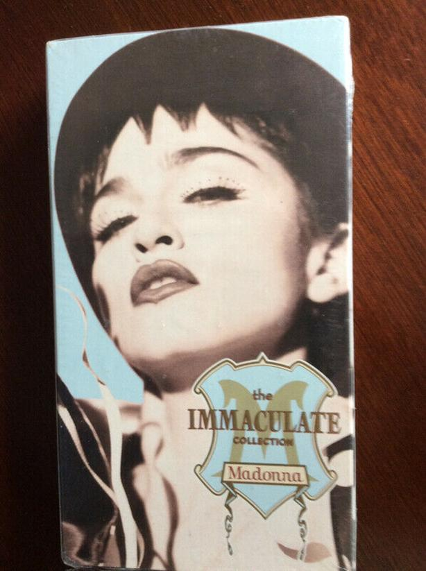 Madonna vhs tape never played or opened