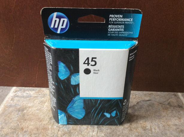 HP 45 black printer ink ,, New !