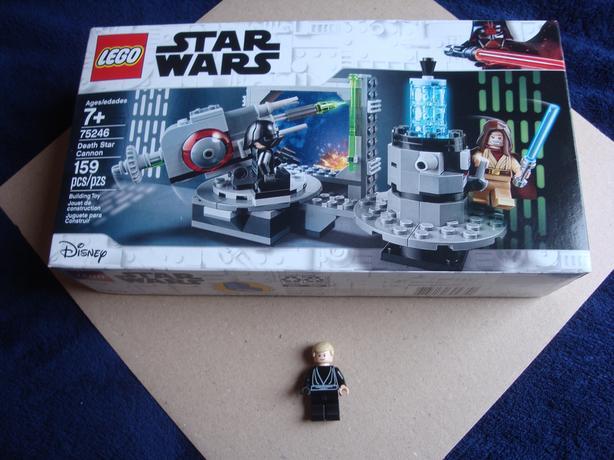 Death Star Cannon playset & Luke Skywalker!