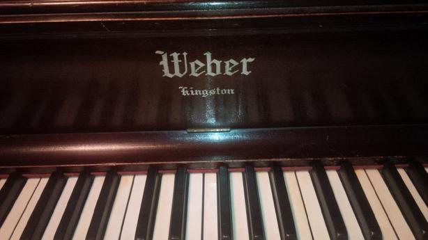 Weber Kingston Antique Upright Piano