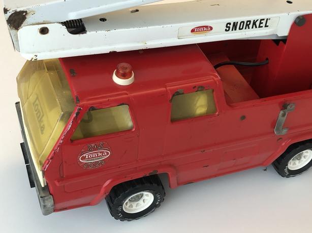 Vintage Tonka Snorkel Fire Truck