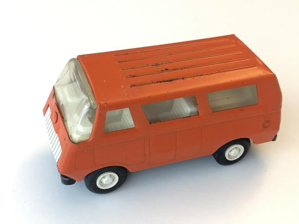 Vintage Tonka Metal Van - Orange