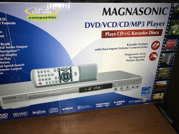 Magnasonic DVD/VCD/CD/MP3 Player