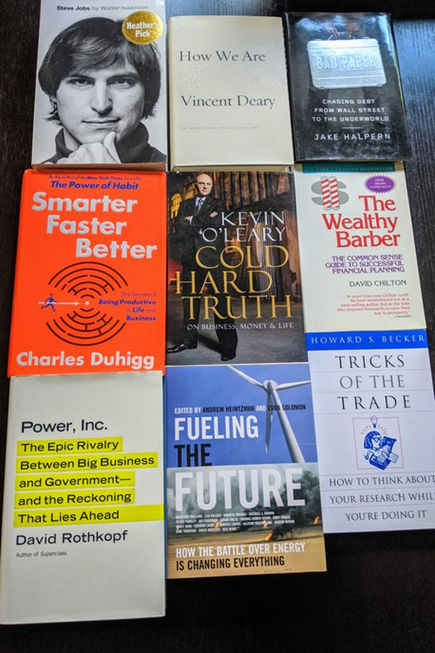 Steve Jobs, Kevin O'Leary, David Chilton; Investing, Business, Book Lot