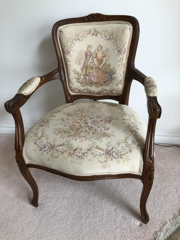 French Provincial parlour chair