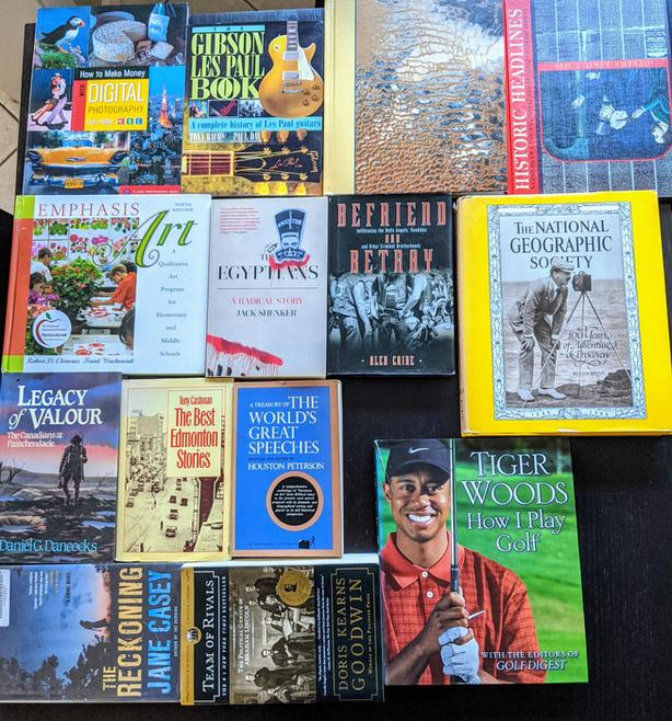 Photography, History, Sports, National Geographic, Guitar Book Lot