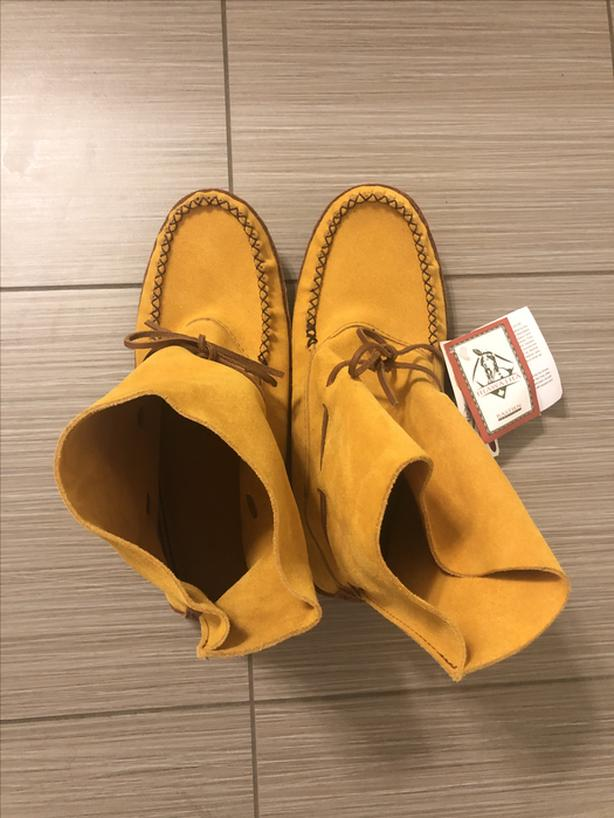 New Cowhide Moccasins