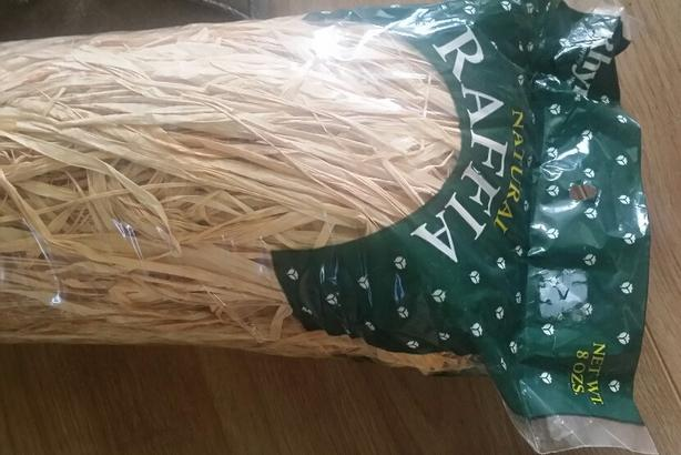 NEW 2 Packages of Natural Raffia